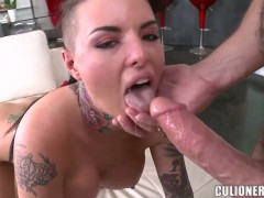 Christy Mack with bubbly ass gets face banged