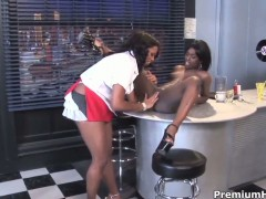 Cocoa Sydnee Capri is just another fuck toy of insatiable lesbian Angel Banxxx