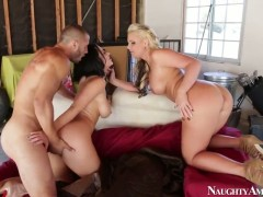 Danny Mountain bangs amazingly hot Phoenix Maries fuck hole in every sex positon
