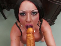 Kerry Louise has fun with vibrator