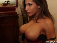 Madison Ivy lets Bill Bailey do everything with her body