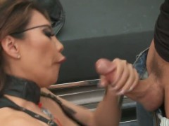 Miko Lee is one sexy Asian woman as she takes it up the ass.