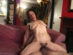 Miss Nina Swiss gives unforgettable deep throat job to horny Jay Huntington