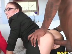 Prince Yahshua buries his rock solid love stick in fuck hungry Jonjons mouth