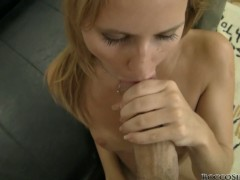 Rocco's POV scenes with Candice A on cock