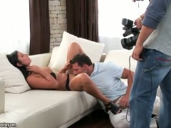 Sexy Lucy Belle fucking with a hot pornstar