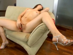 Isabel strips down to her birthday suit and has fun alone