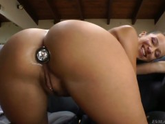 John Stagliano uses his rock hard love stick to bring Jada Stevens to the edge of nirvana