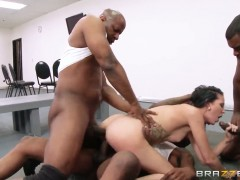Rico Strong finds Jon Jon handsome and takes his hard love torpedo in her bum hole